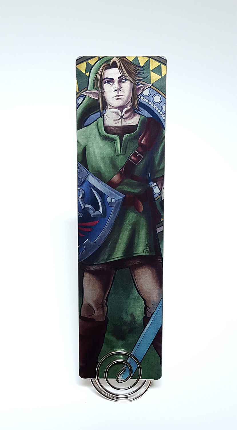 Legend of Zelda – Courage Metal Bookmark