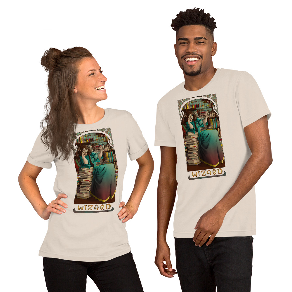 La Magicien – The Wizard Short-Sleeve Unisex T-Shirt