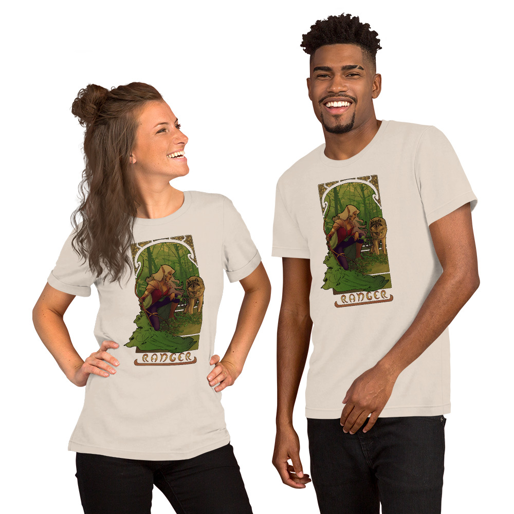 La Rôdeur – The Ranger Short-Sleeve Unisex T-Shirt