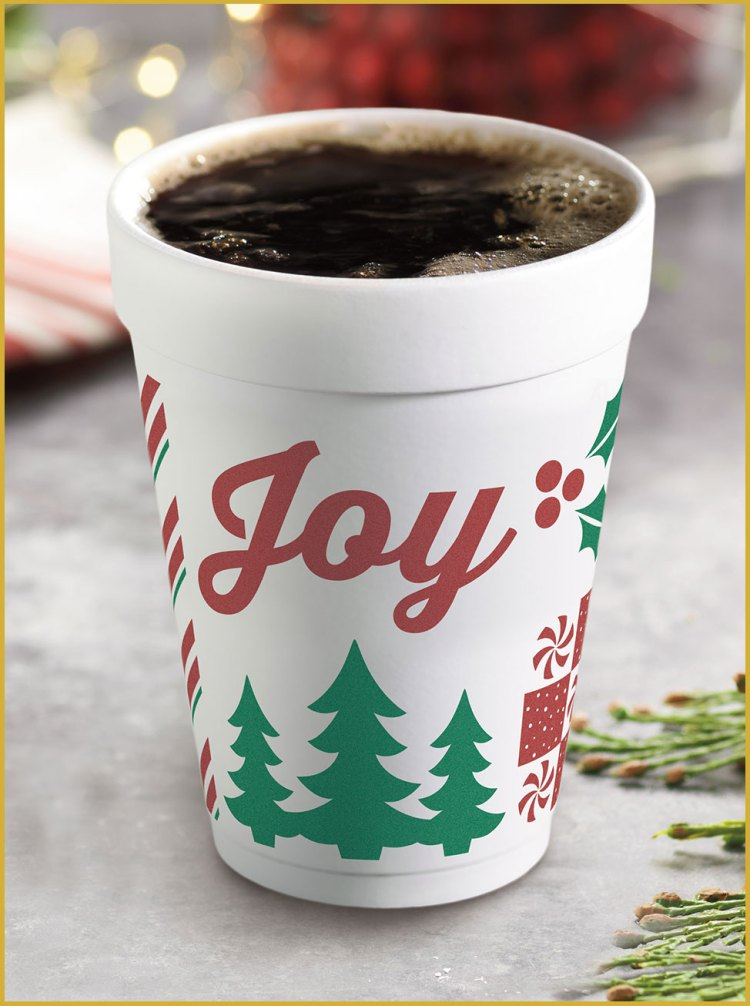 Dunkin' Donuts Holiday Cup for 2017