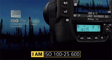 Nikon D4S - ISO 100-25600 video still