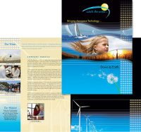 Catch the Wind, Inc. folder brochure
