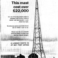 Old Adverts #55 - RTE TV License Fee - 1963