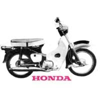 Honda Motorbikes - 5 Irish Adverts - 1968/69/70