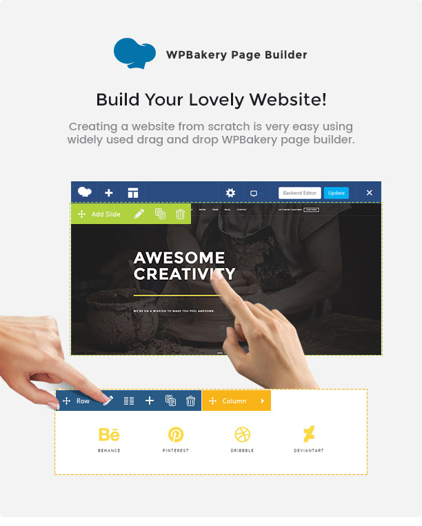 Brando Responsive and Multipurpose OnePage WordPress Theme - 12