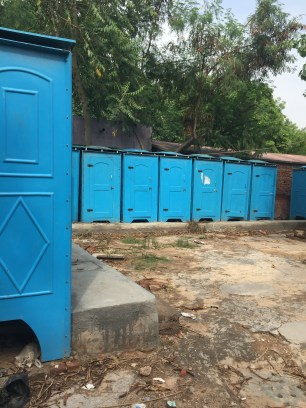 Toilet complex helping sanitation issues