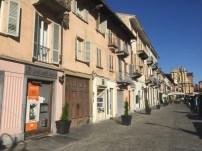 The main street of Bra, Italy.