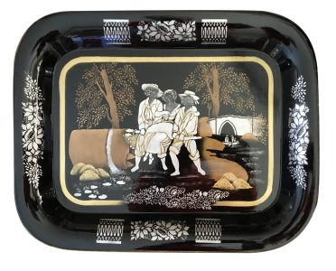 Colonial Stencilled Tray