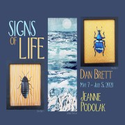 Signs of Life: New Work by Jeannie Podolak and Dan Brett
