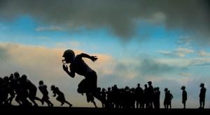 PINE CREEK HIGH SCHOOL FOOTBALL PRACTICE