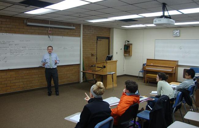 Dr. Bascom Teaching