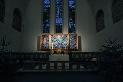 Brorsons Altar-view from entrance