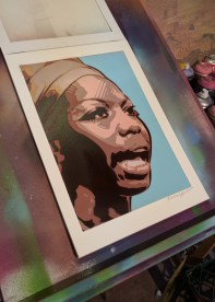 For sale on my webhsop: Nina Simone HPM