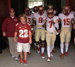 Jimbo and Trey Fisher and the team in the tunnel