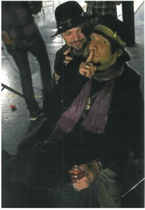 Brandon Novak & Bam Margera