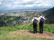 This spot is perhaps the best overlook of Yaoundé that I was able to see. It has a special place in my heart because