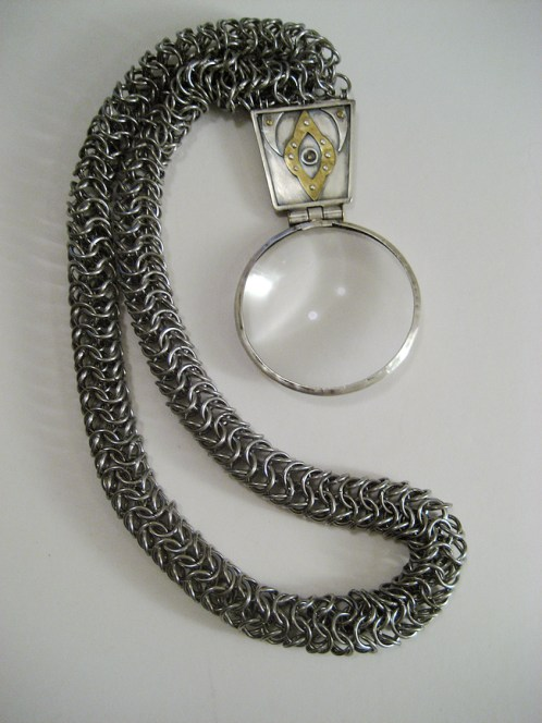 concept_extrovert_chainmail_necklace_lens_huge_glass_euro_tube_steel