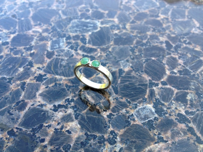 ring_comfort_aventurine_double_silver