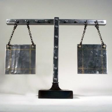 sculpture_balance_scales_welded_steel_brass_inlay
