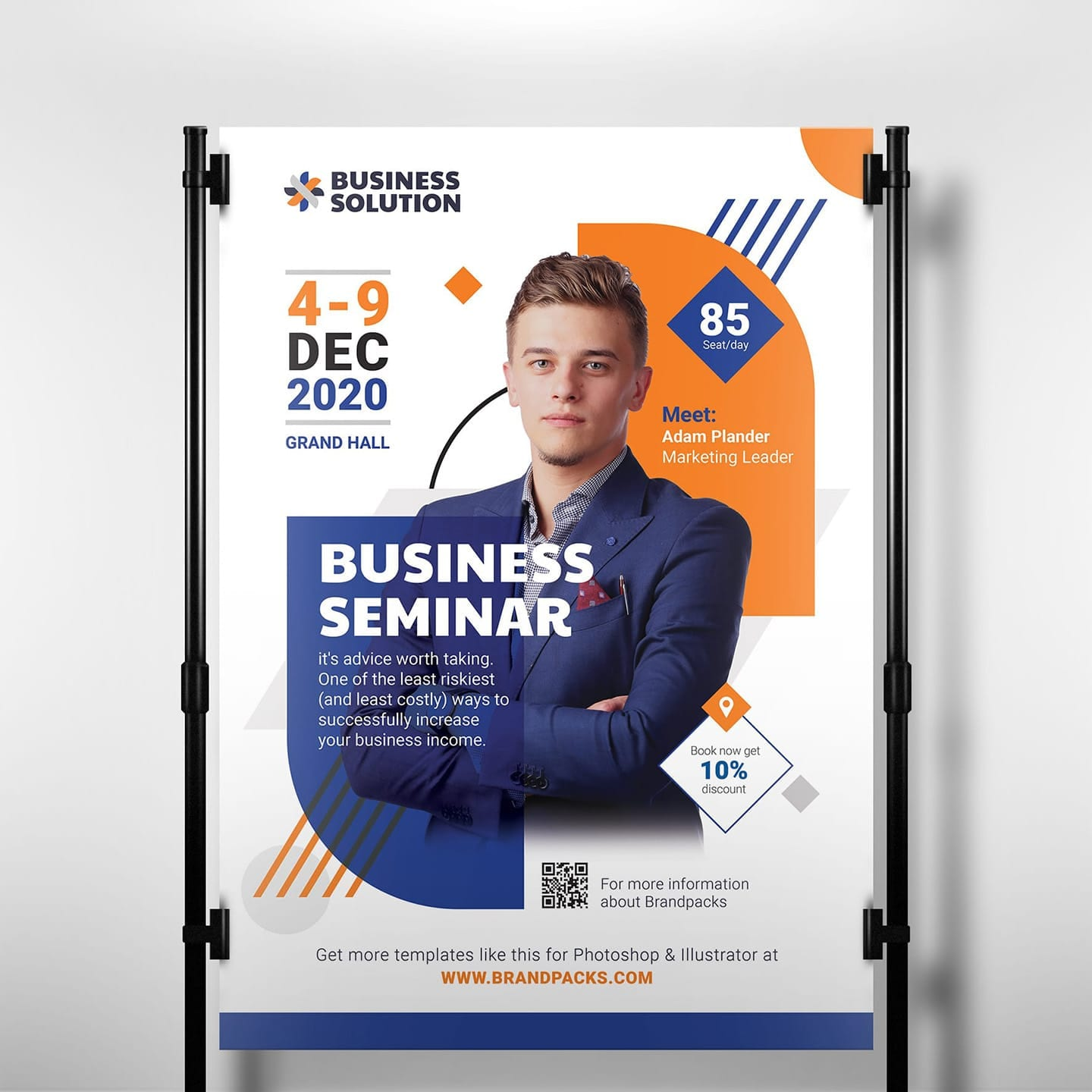 Corporate Event Poster Banner Template Psd Ai Vector