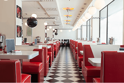 Restaurants - Photo of an empty diner