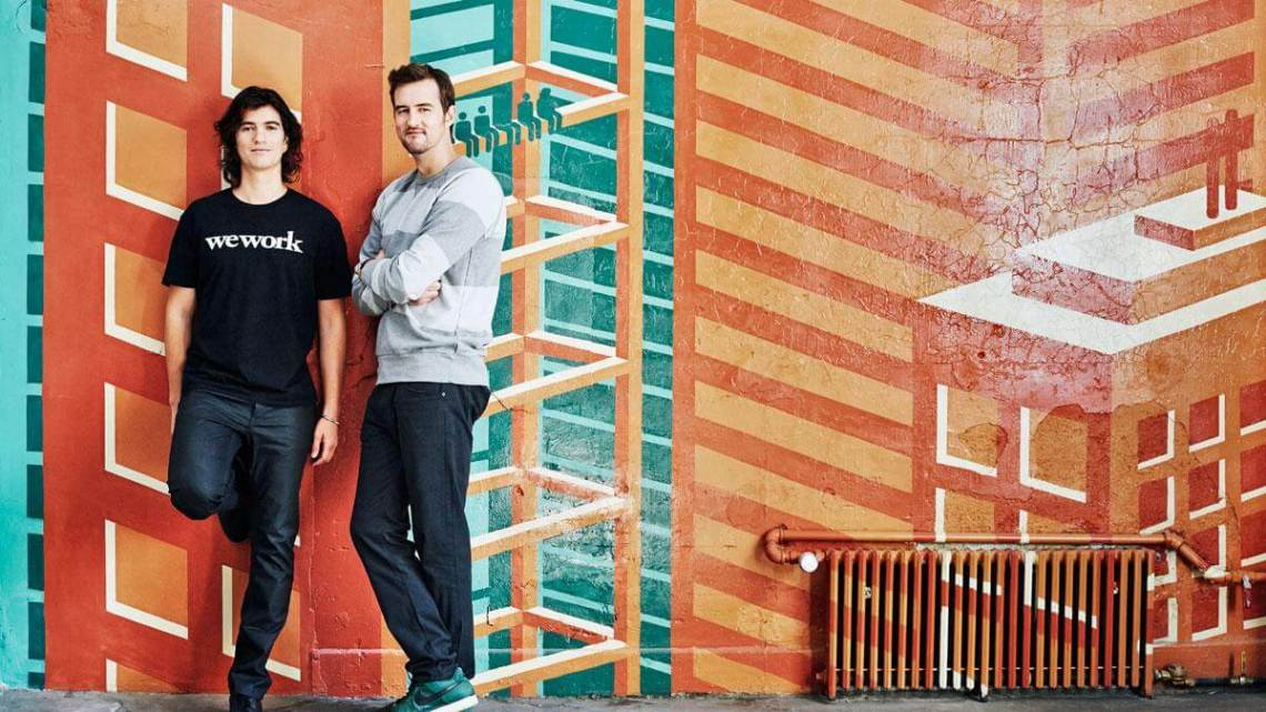Adam Neumann and Miguel McKelvey, Founders WeWork