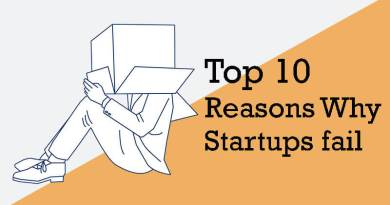 10 Reasons Why Startups fail in the first few years of operation