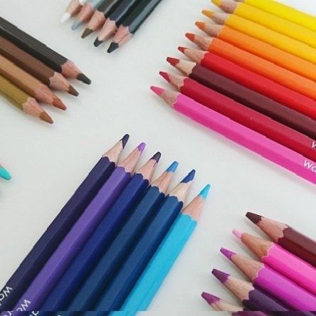 Amazrock Water Soluble Colored Pencil Set |  Watercolor Pencils Art