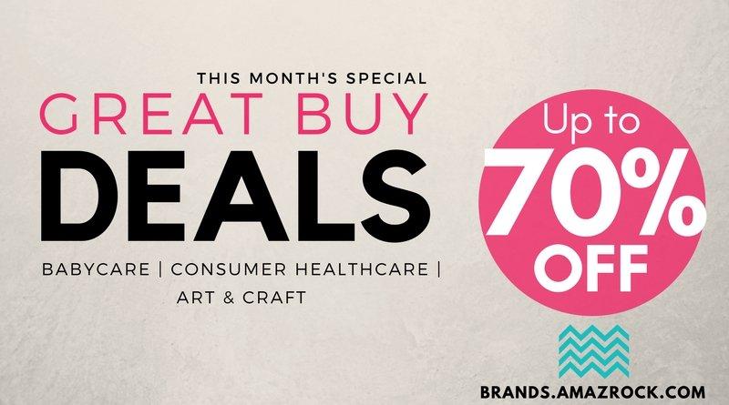 This month's Specials : Amazrock Brands - Great Buy Deals