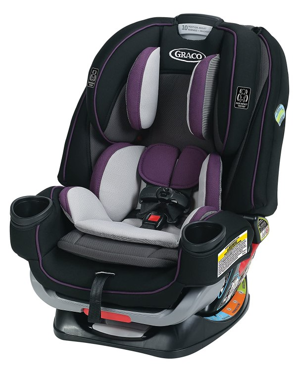 Graco 4Ever Extend2Fit 4 in 1 Car Seat - Ride Rear Facing Longer with Extend2Fit, Jodie