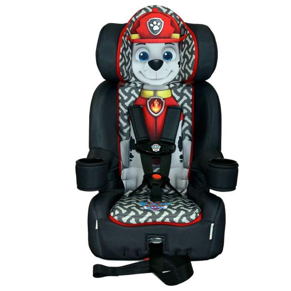 KidsEmbrace 2-in-1 Harness Booster Car Seat, Nickelodeon Paw Patrol Marshall