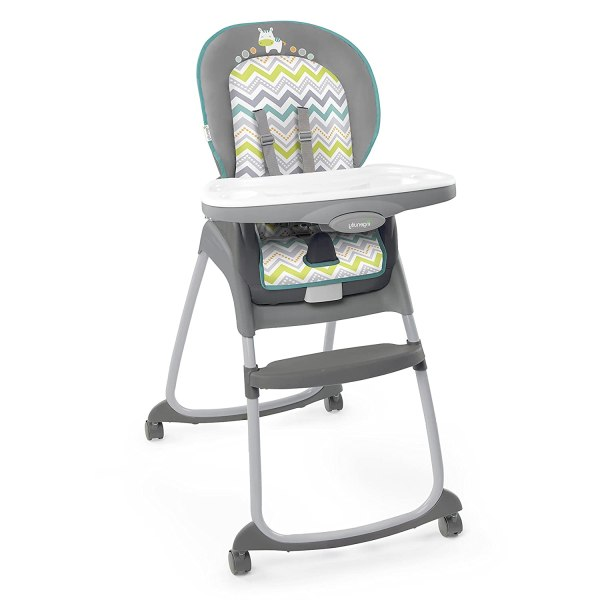 Ingenuity Trio 3-in-1 High Chair – Ridgedale - High Chair, Toddler Chair, and Booster