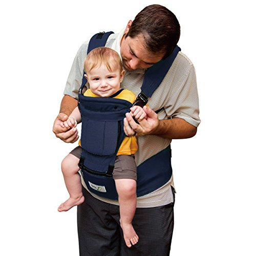 1b38313c6020 BabySteps 6-IN-1 Ergonomic Baby Hip Seat Carrier, Soft Carrier for All