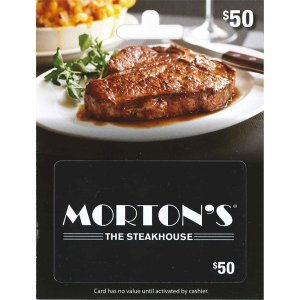 Morton's Gift Card