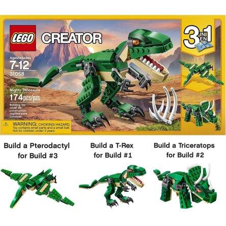 LEGO Creator Mighty Dinosaurs – 31058 Dinosaur toy