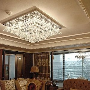 K9 Crystal Chandelier Ceiling Light Fixture