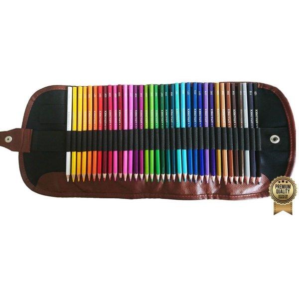 Amazrock Watercolor Pencils Set - 36 Colors (Soft Core Special Edition)