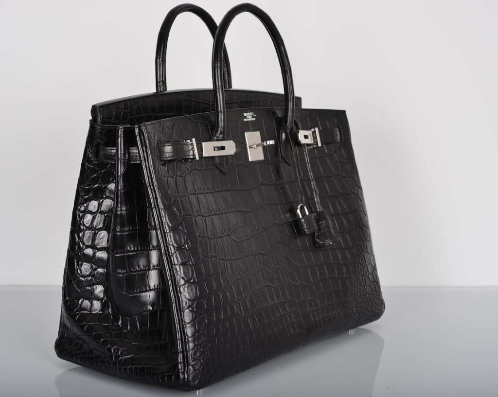 9beb399176 The Birkin bag made by Hermès is one of the world s most popular bags and  it was inspired by French actress Jane Birkin. This bag is made of  crocodile skin ...