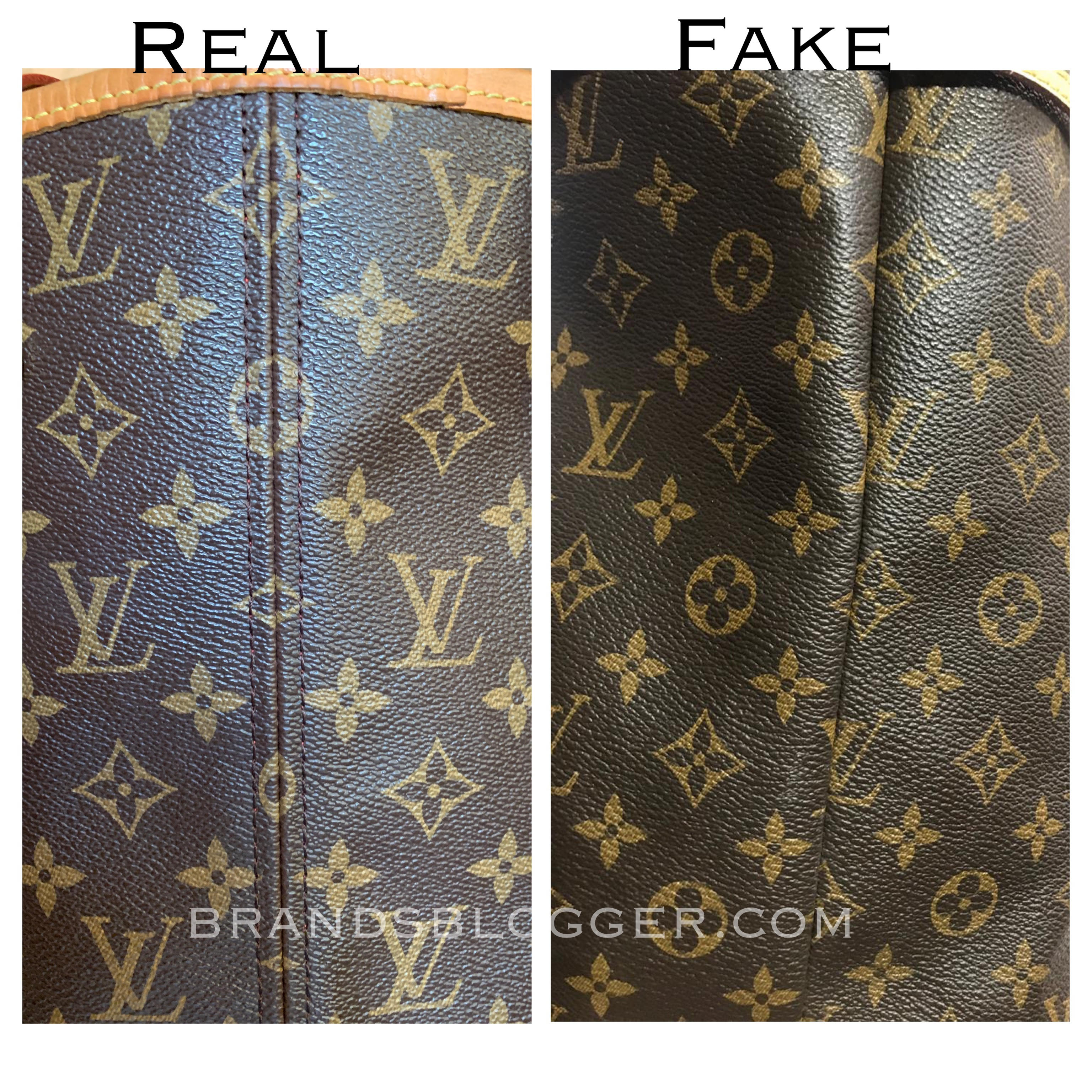 How To Spot A Fake And Authentic Louis Vuitton Bag Love >> How To Spot A Fake Louis Vuitton Neverfull Bag Brands Blogger