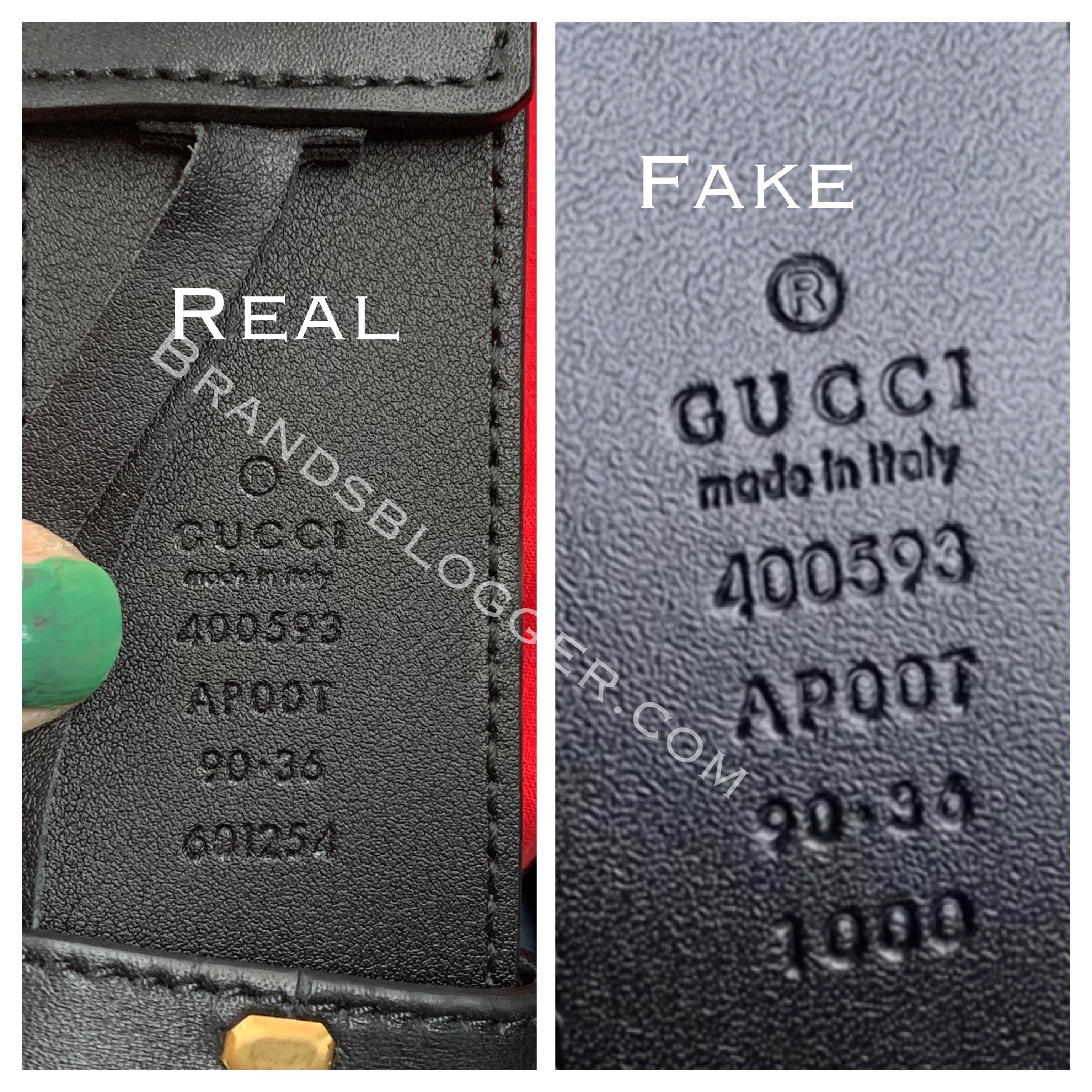 Gucci Belt Serial Number >> How To Spot A Fake Double G Gucci Belt Brands Blogger