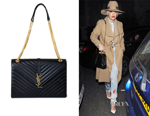 Celebs Make Their Way In The World With Saint Laurent Bags