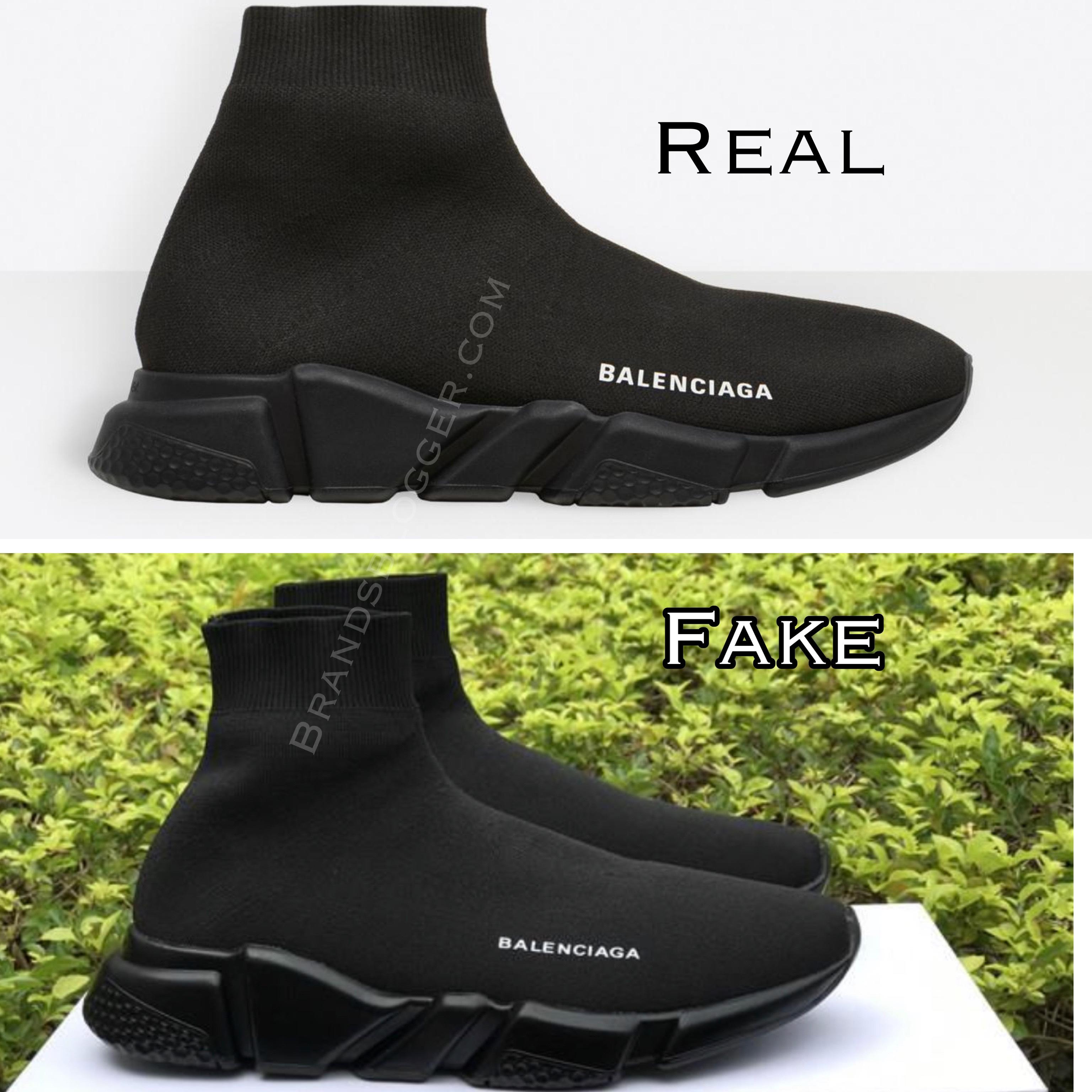 balenciaga speed trainers fake
