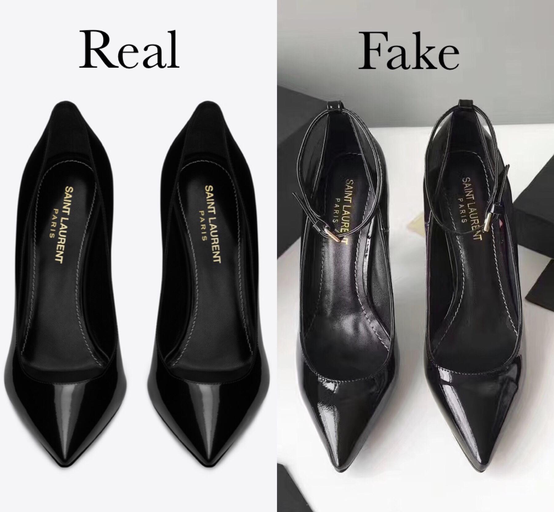 to spot fake Saint Laurent Opyum Heels
