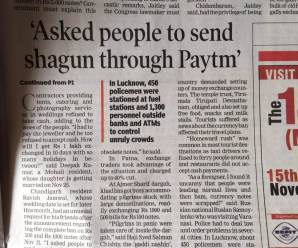 Creating Buzz out of National hype: paytm,kejriwal story