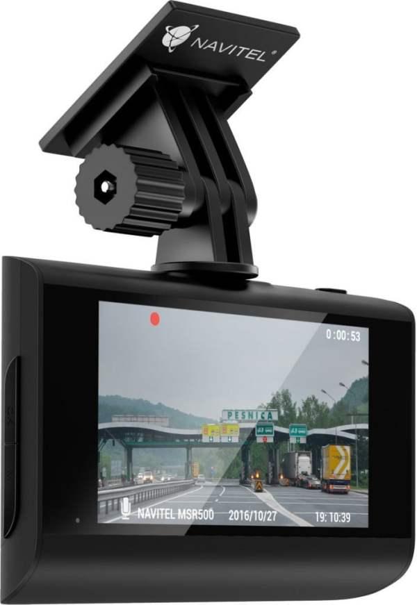 Wideorejestrator Navitel MSR500 – czy warto? MSR500 holder back