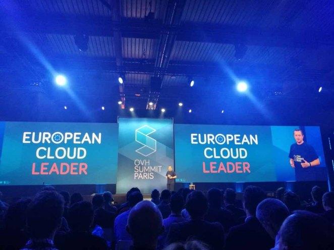 OVH Summit 2017  OVH szybko stanie się globalnym liderem usług cloud Summit European Cloud Leader  1024x768
