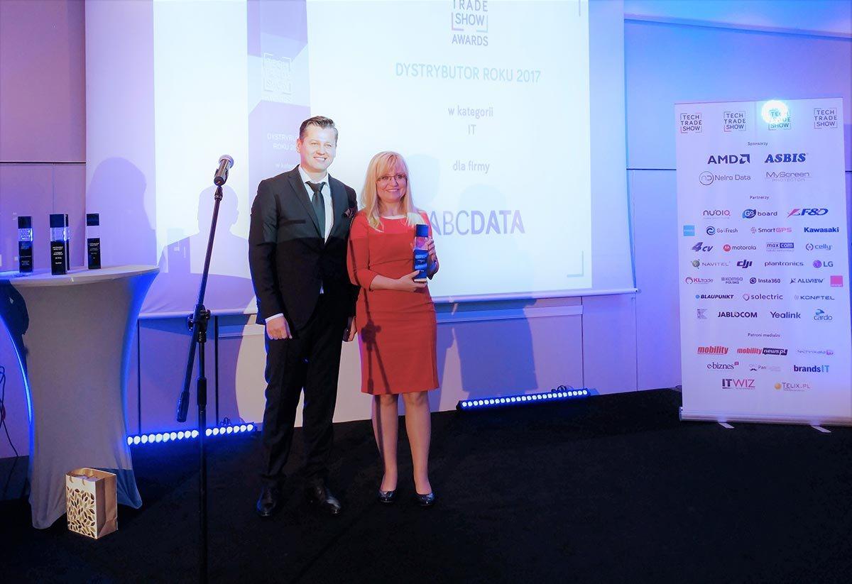 ABC Data Tech Trade Show Ilona Weiss