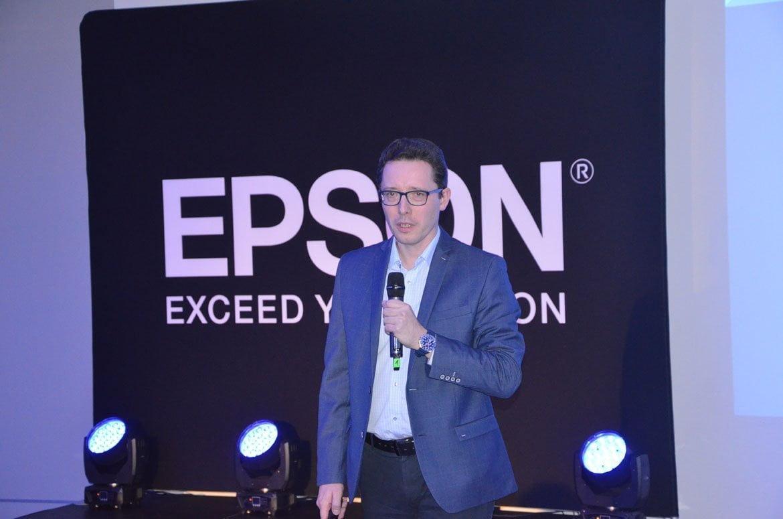 Krzysztof Modrzewski Epson  Epson Business Partner Conference 2018 – druk atramentowy nadal ma się dobrze Krzysztof Modrzewski Epson