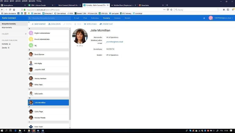 KerioCloud  Kerio Connect ‑ alternatywa do Exchange KerioCloud