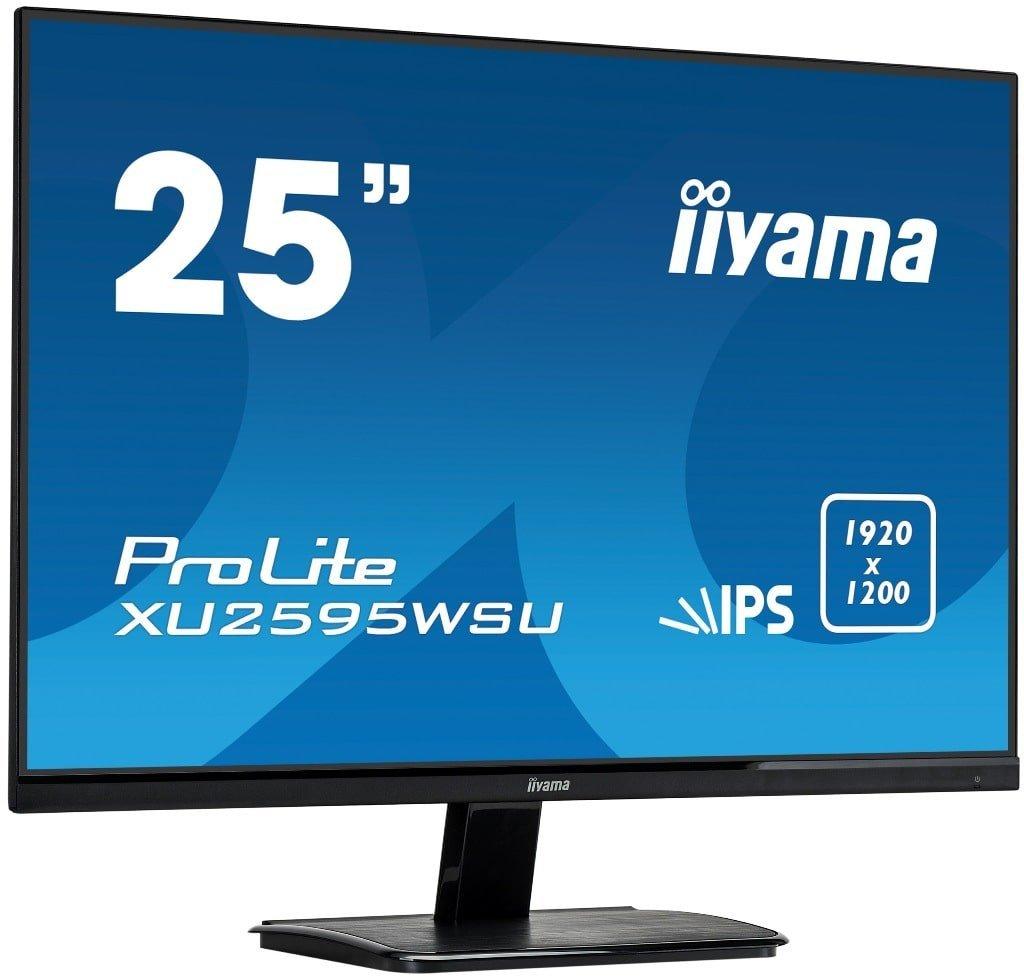 iiyama  25-calowy ekran WUXGA dla profesjonalistów XU2595WSU20